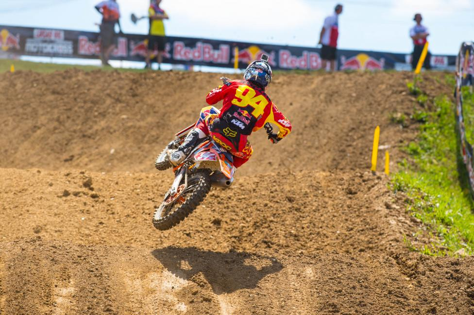 """I want to keep battling up front all the way. Just want to click some wins off and just try to get as many points as I can."" - Ken Roczen Photo: Simon Cudby"