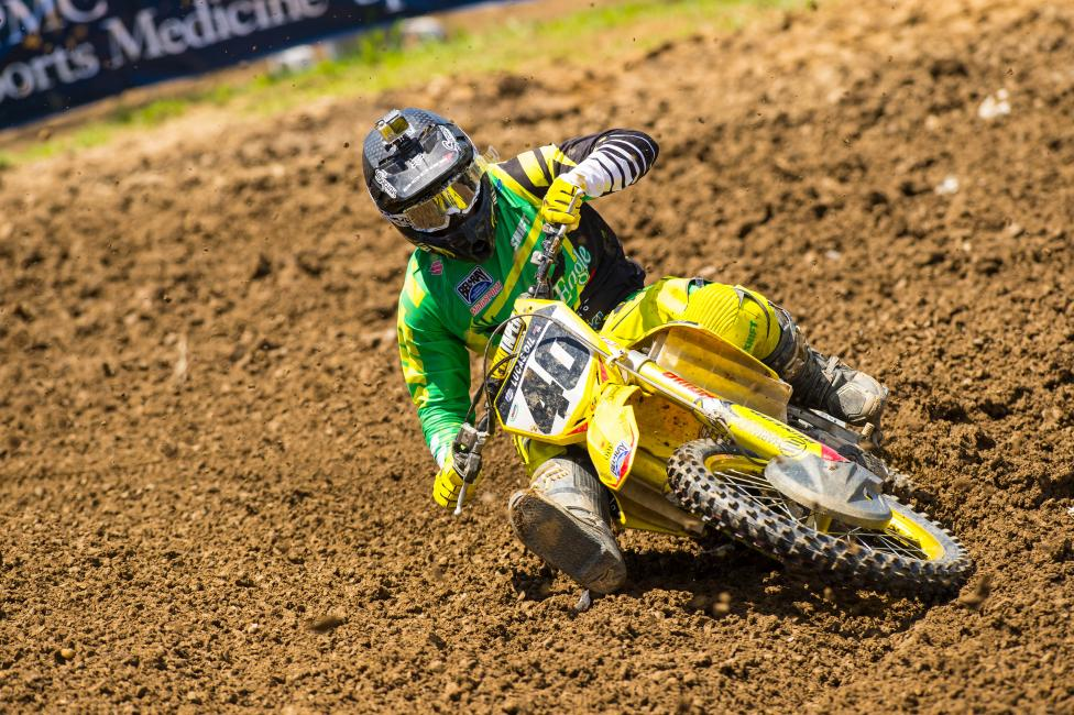 Weston Peick continues to make the best of his new opportunity. Photo: Simon Cudby