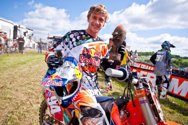 Roczen took home his second Oakley Bomb Award of the season.  Photo: Matt Rice/Allisports