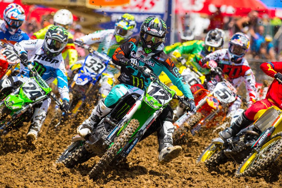 Rough day for Jake Weimer at High Point.
