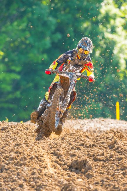 After a bunch of mudders early in this GNCC season, practice at High Point probably seemed easy. Photo: Simon Cudby