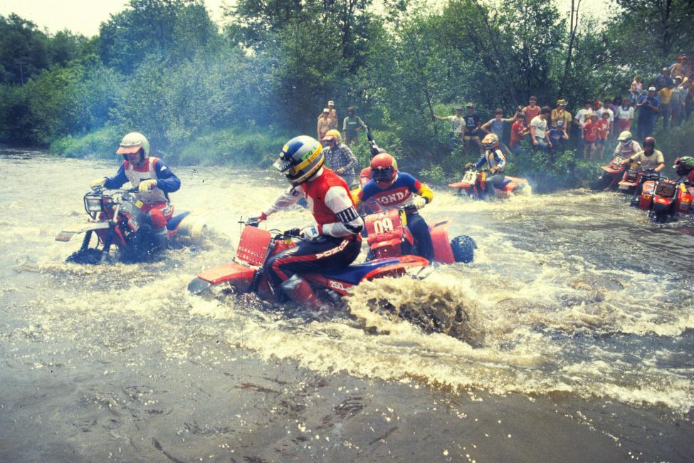 Look forward to some crazy racing this weekend at the Snowshoe GNCC. Wait...this is NOT a photo from that race? Sorry. Photo: GNCC Archives