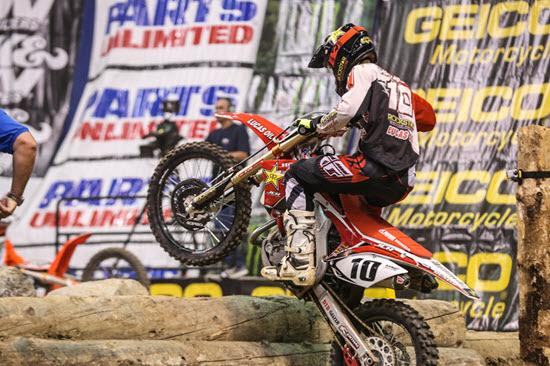 Colton Haaker won in Sacramento. Photo: EnduroCross