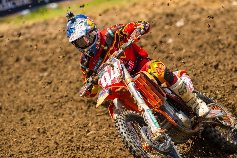 Ken Roczen leads the 450 Class into Tennessee this weekend.  Photo: Simon Cudby