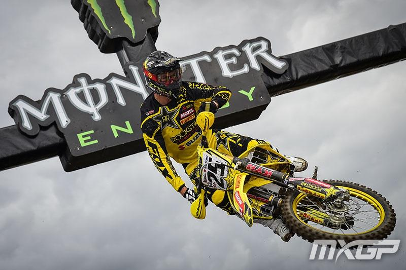 Clement Desalle cut into Antonio Cairoli's points lead with a 2-1 performance in Germany. Photo: MXGP