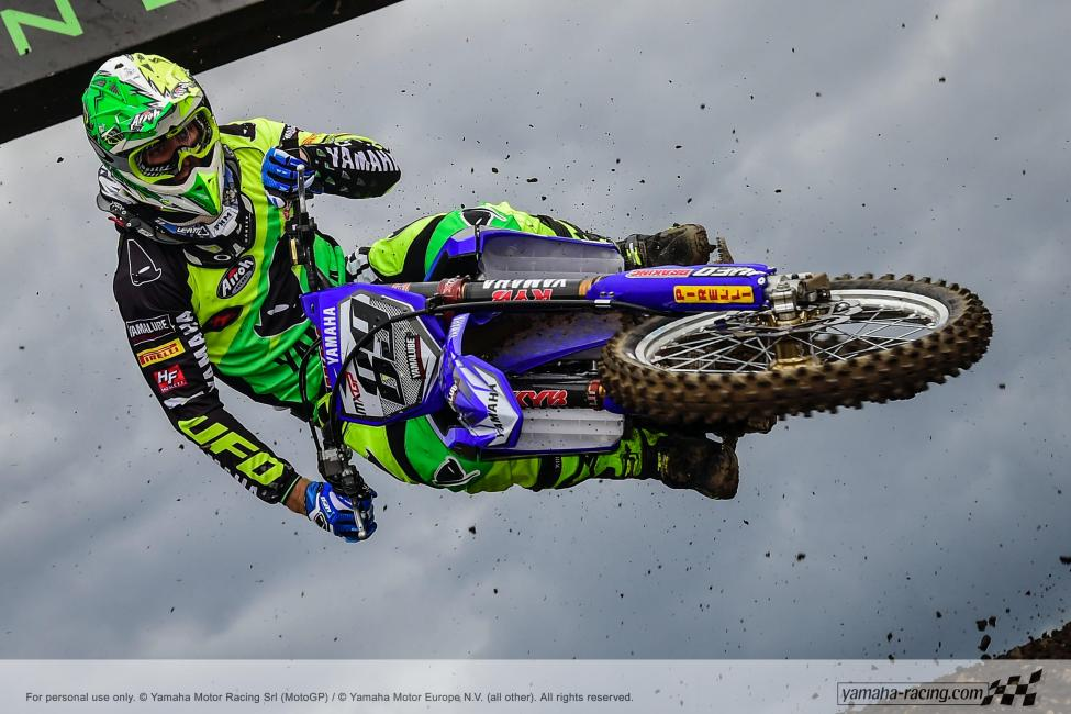 Jeremy Van Horebeek has racked up ten consecutive podium finishes from eleven rounds. Photo: Yamaha Racing