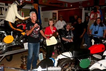 Tom White Elected to AMA Motorcycle Hall of Fame