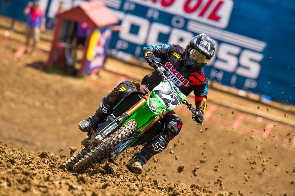 Will Chad Reed enter the mix up front following the week off? Photo: Simon Cudby