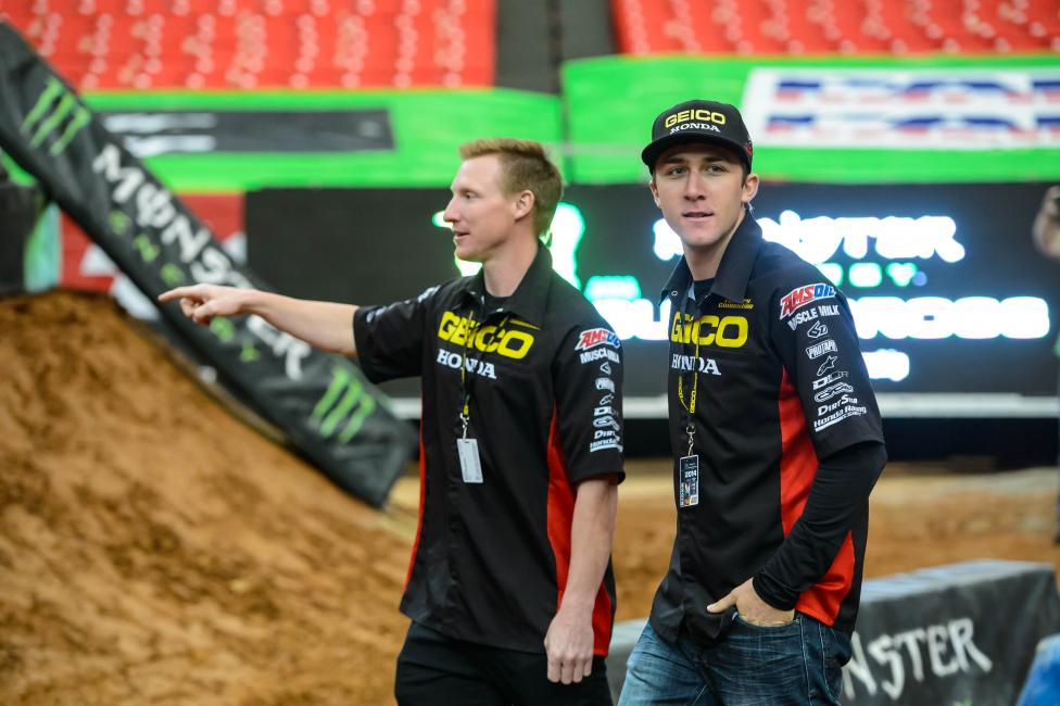 Eli Tomac will make his 450MX debut Saturday.  Photo: Simon Cudby