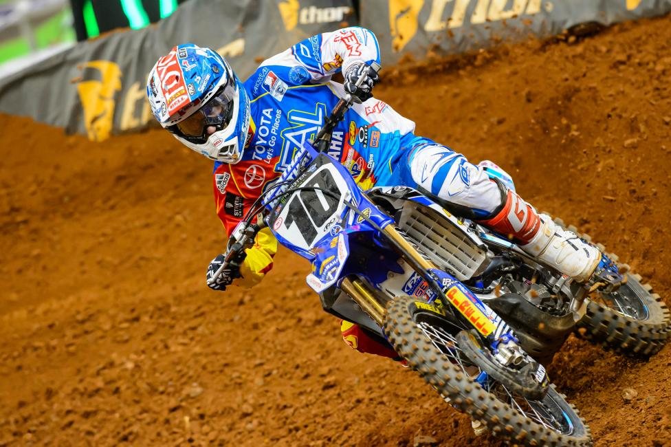 Justin Brayton will make his 2014 Lucas Oil Pro Motocross debut at Muddy Creek.  Photo: Simon Cudby