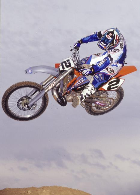 MC's KTM stint didn't go very well. See below.Photo: Racer X Archives