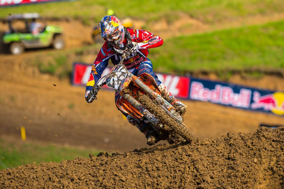 Musquin is feeling better following the off weekend. Will it translate to a win? Photo: Simon Cudby