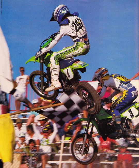 Swink and Antunez were two of the fastest guys to ever throw a leg over a mini bike.