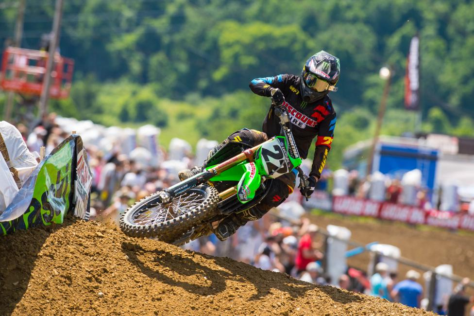 Chad Reed looks to continue to build at Muddy Creek.  Photo: Simon Cudby