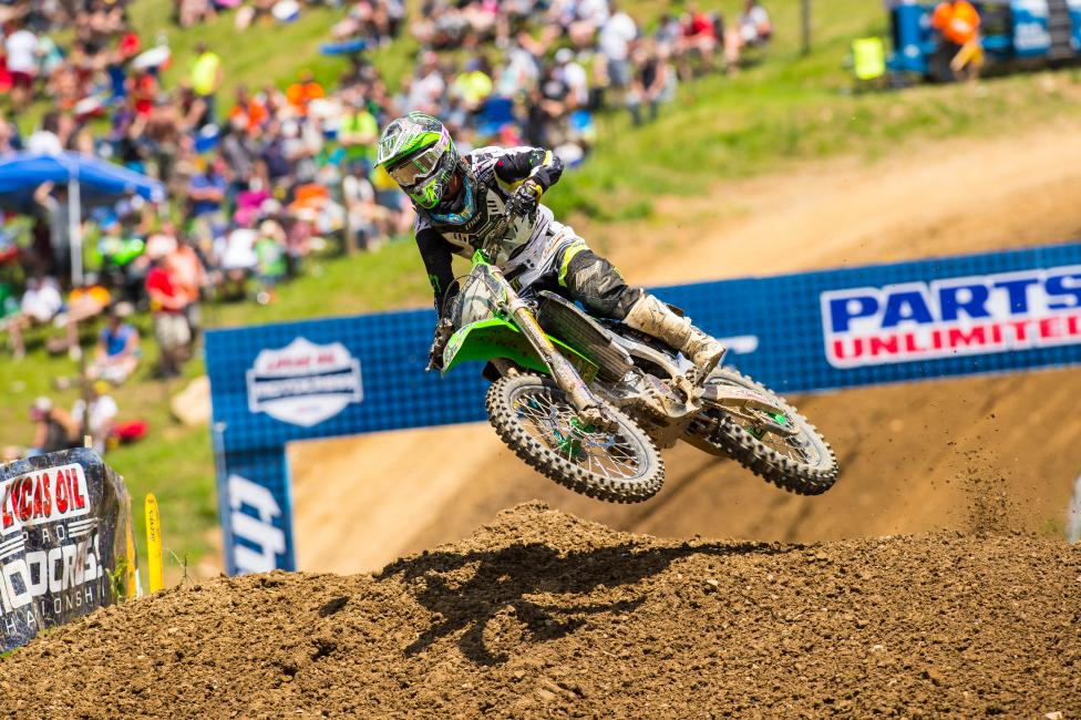 Can Blake Baggett continue to cut into Jeremy Martin's points lead this weekend? Photo: Simon Cudby