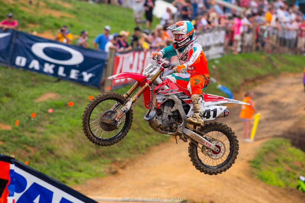 Trey Canard was good on this day but not as great as he was at High Point.