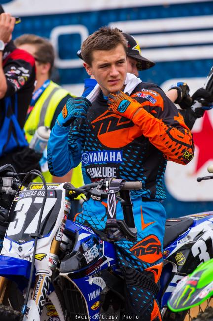 Add Cooper Webb to Yamaha's 250F hit parade.Photo: Cudby