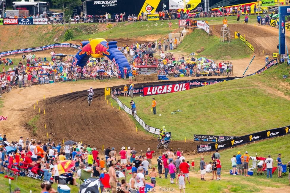 The weather turned out just about perfect, the crowd was pumped, and the racing was great at Muddy Creek.Photo: Cudby