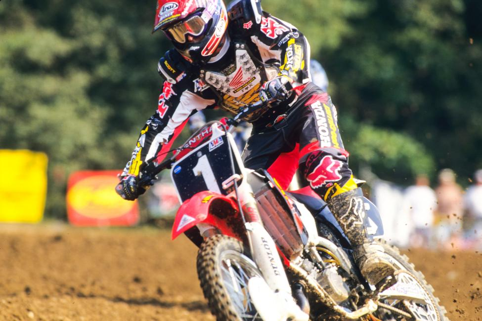 Lamson during his prime years with Team Honda.Photo: Fran Kuhn