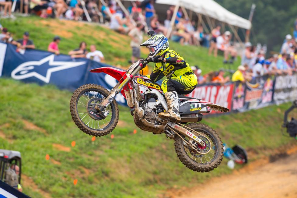 Zach Bell should find out later this week if he is racing RedBud or not. Photo: Simon Cudby
