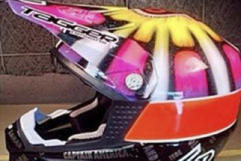 Kurt Caselli Tribute Helmet Auction