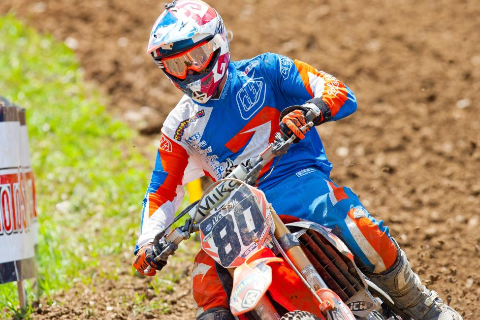 Noren is currently 13th in 450 Class standings. Photo: Andrew Fredrickson