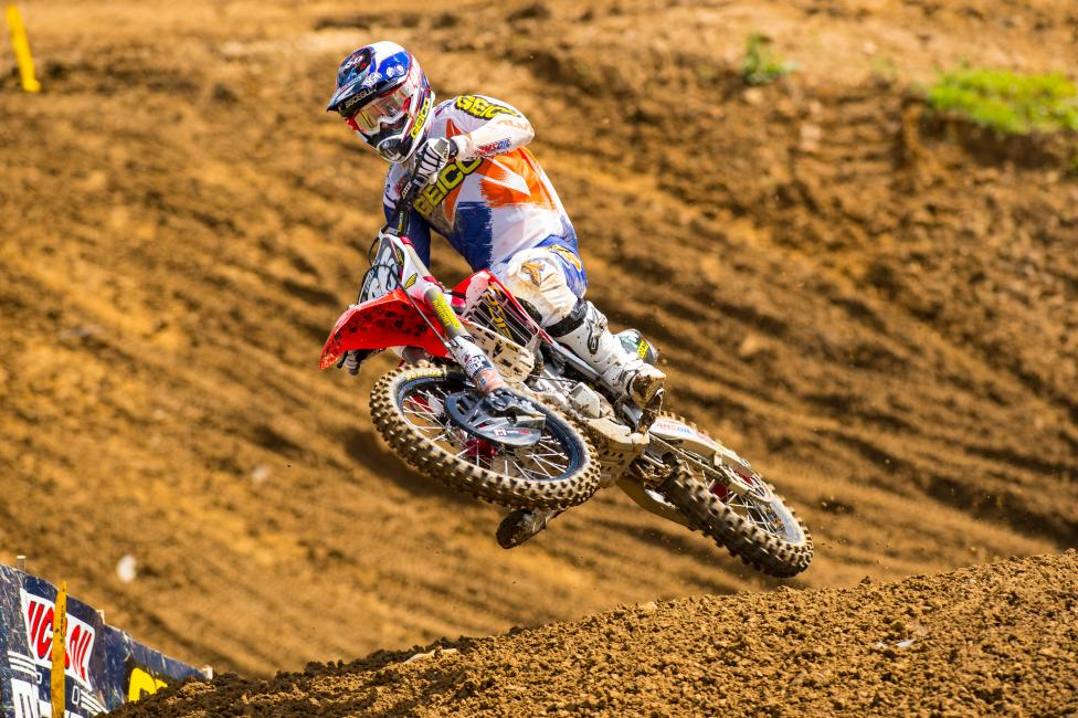 Matt Bisceglia returns after missing Muddy Creek.Photo: Simon Cudby