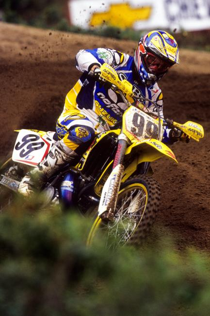 Sean Hamblin filled-in for both Suzuki and Yamaha.  Photo: Simon Cudby