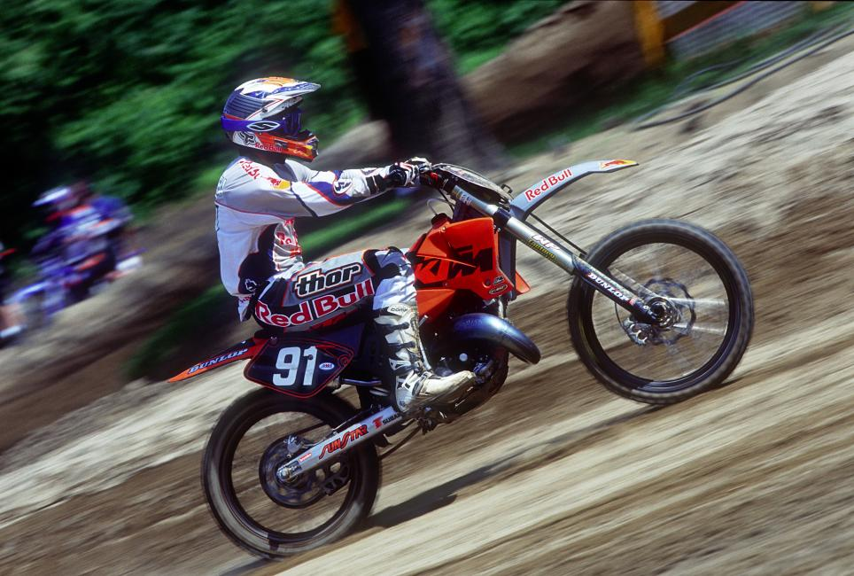 Mike Treadwell got his big break from Red Bull KTM.