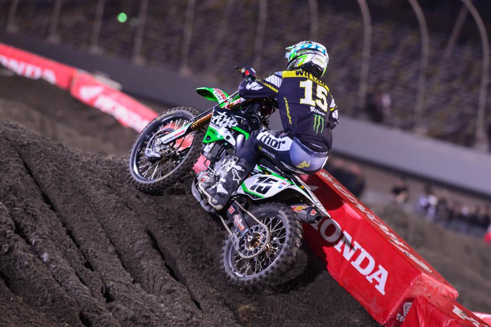 Dean Wilson rode for TwoTwo Motorsports in supercross this season.  Photo: Simon Cudby