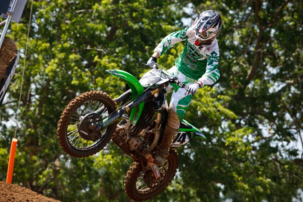 Branden Jesseman got the call from Monster Energy Kawasaki.  Photo: Simon Cudby