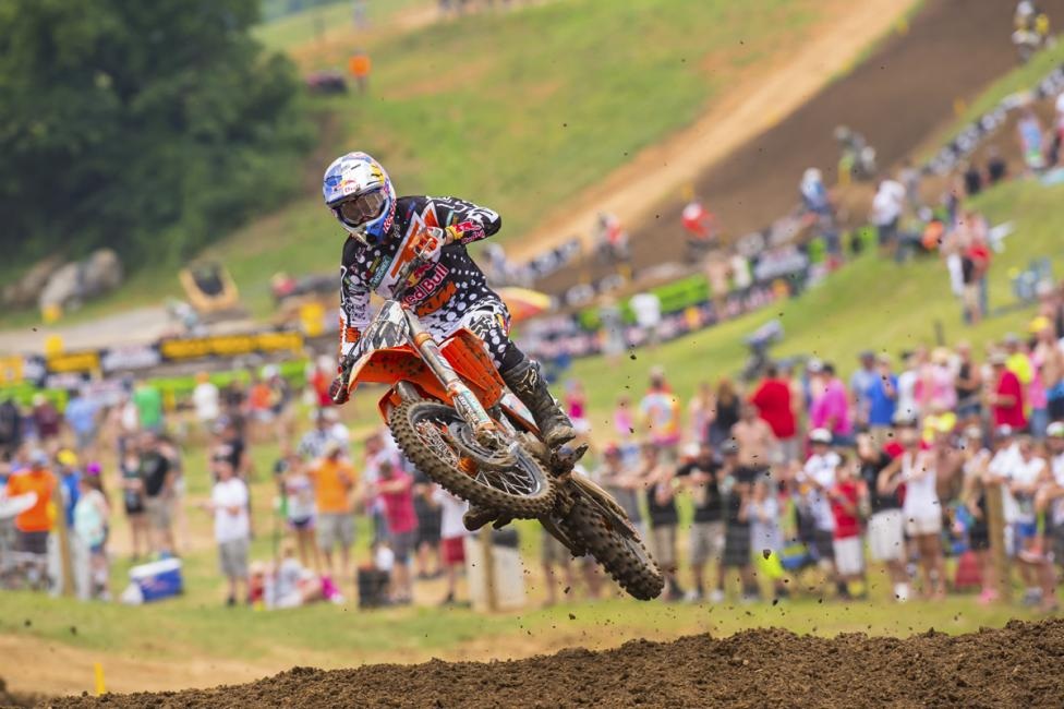 The next few weeks are critical for Ryan Dungey (above) and Ken Roczen.  Photo: Simon Cudby
