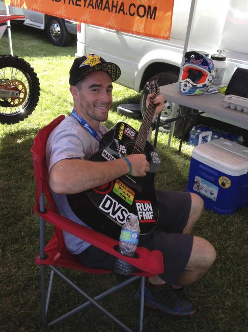 With another off weekend in GNCC, Ryan Sipes is back.  Photo: DC