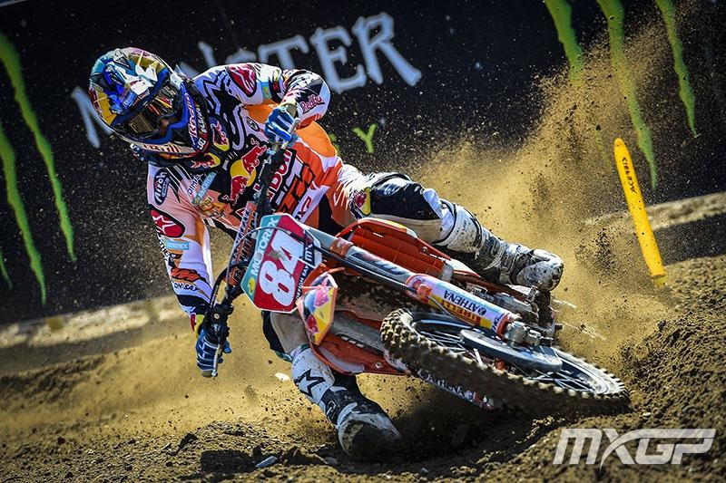Jeffrey Herlings continued his MX2 domination with the overall win in Sweden.Photo: MXGP