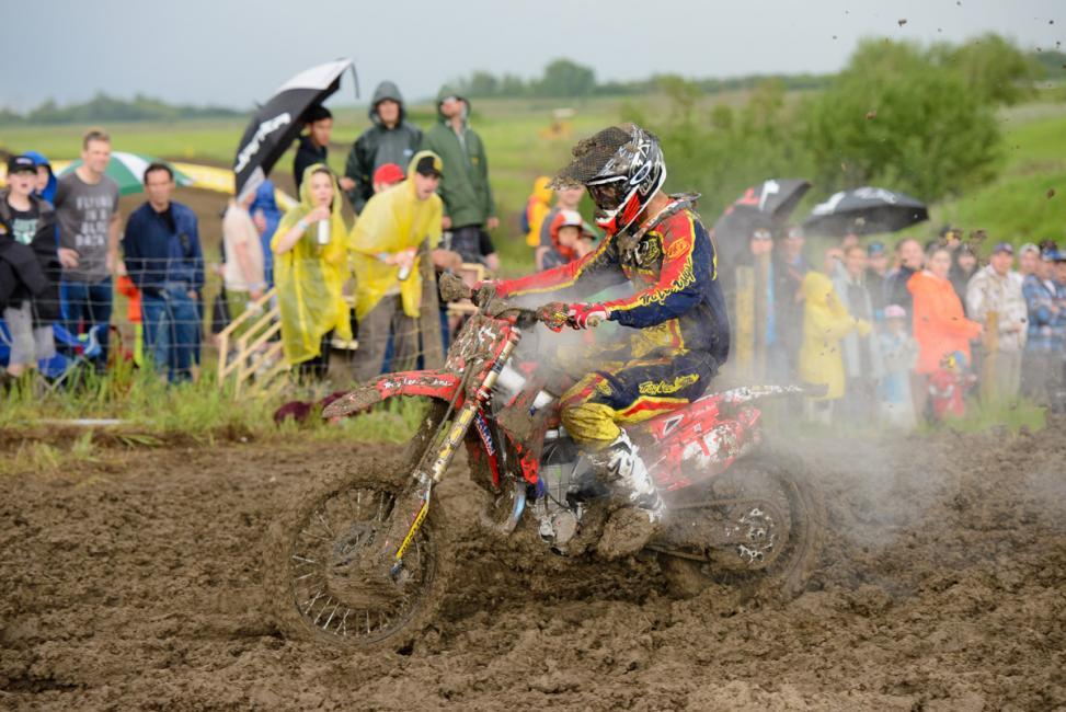 Colton Facciotti leads the MX1 class in CanadaPhoto: James Lissimore