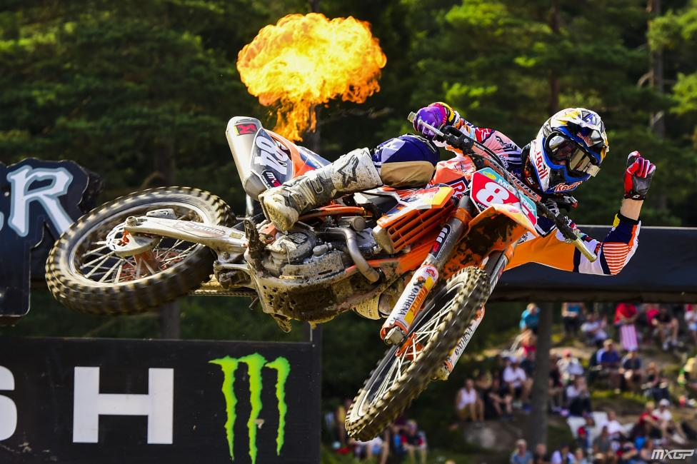 Another GP, another win for Jeffrey Herlings.  Photo: MXGP