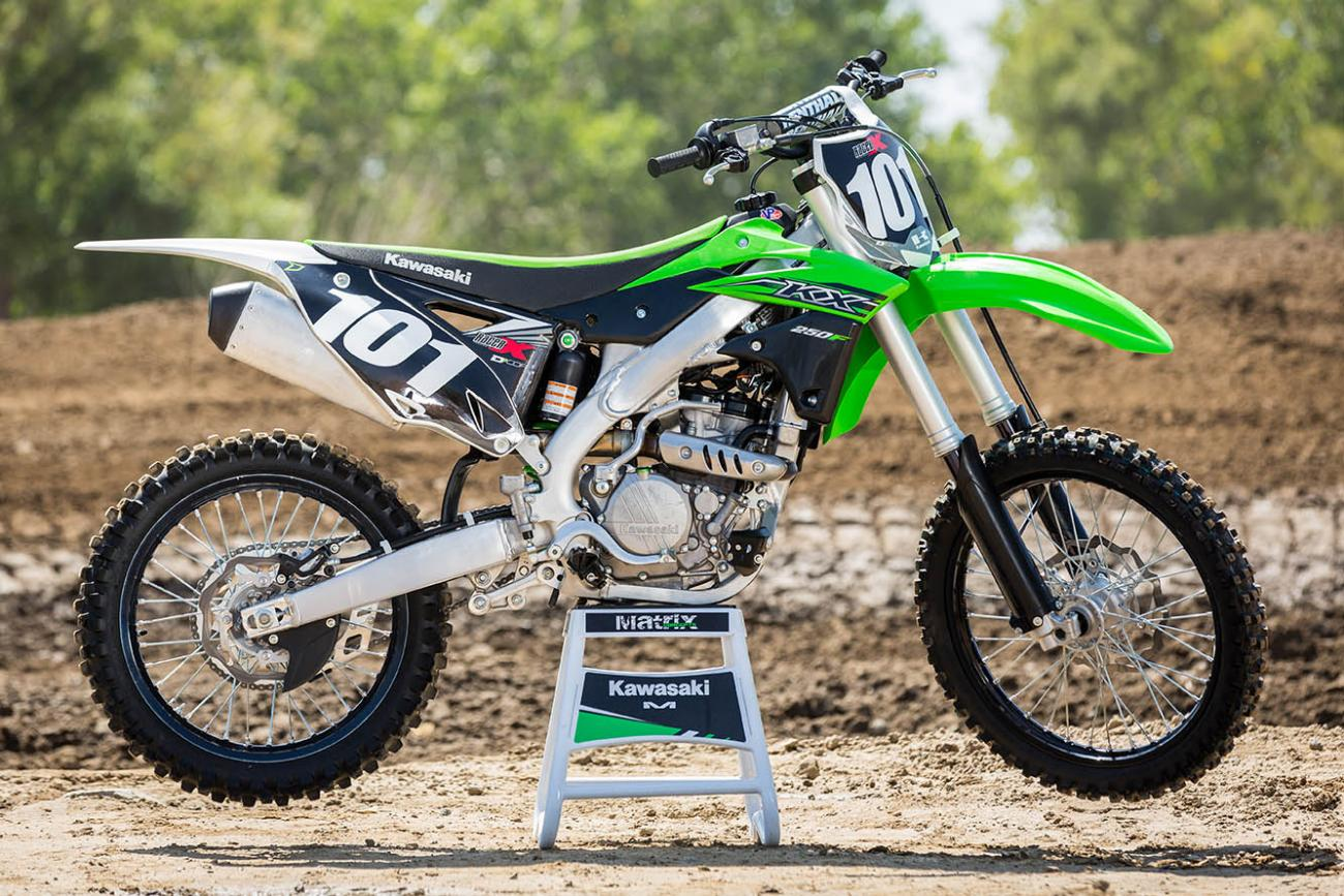 Racer X Films: 2015 KX250F Press Intro
