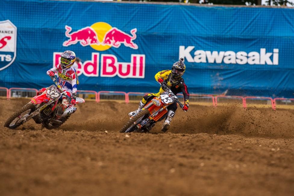 Joey might be back on the Rockstar KTM team next year if he has a solid finish to the summer.Photo: Simon Cudby