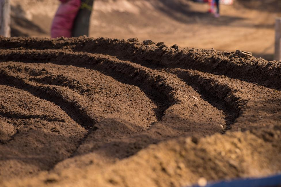 RedBud is an awesome track, but there was less of it this year, and Matthes wasn't happy.Photo: Simon Cudby