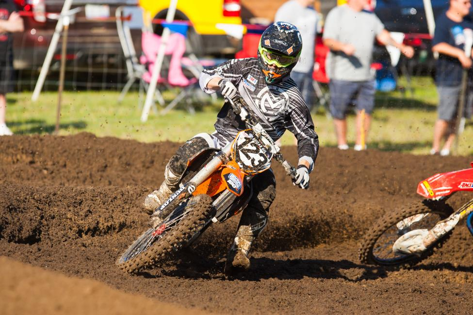 Rookstool has scored points in three of twelve motos.Photo: Andrew Fredrickson
