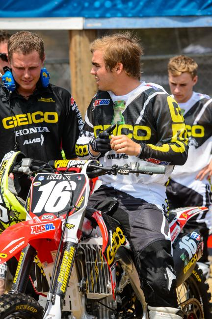 Zach Osborne is expected back in early August at Unadilla.Photo: Simon Cudby