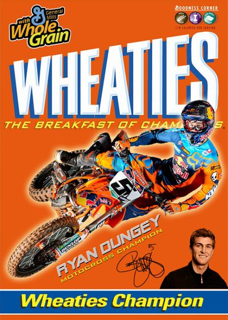 Reader Paul Shirey put this together of what Dungey would look like on the Wheaties box.Photo: Paul Shirey