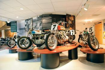 Byron Hines Elected to AMA Motorcycle Hall of Fame