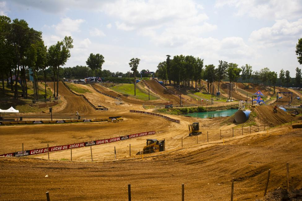 Budds Creek is going to get a little more dry and hard than the loam we've seen these first six races. Photo: Andrew Fredrickson