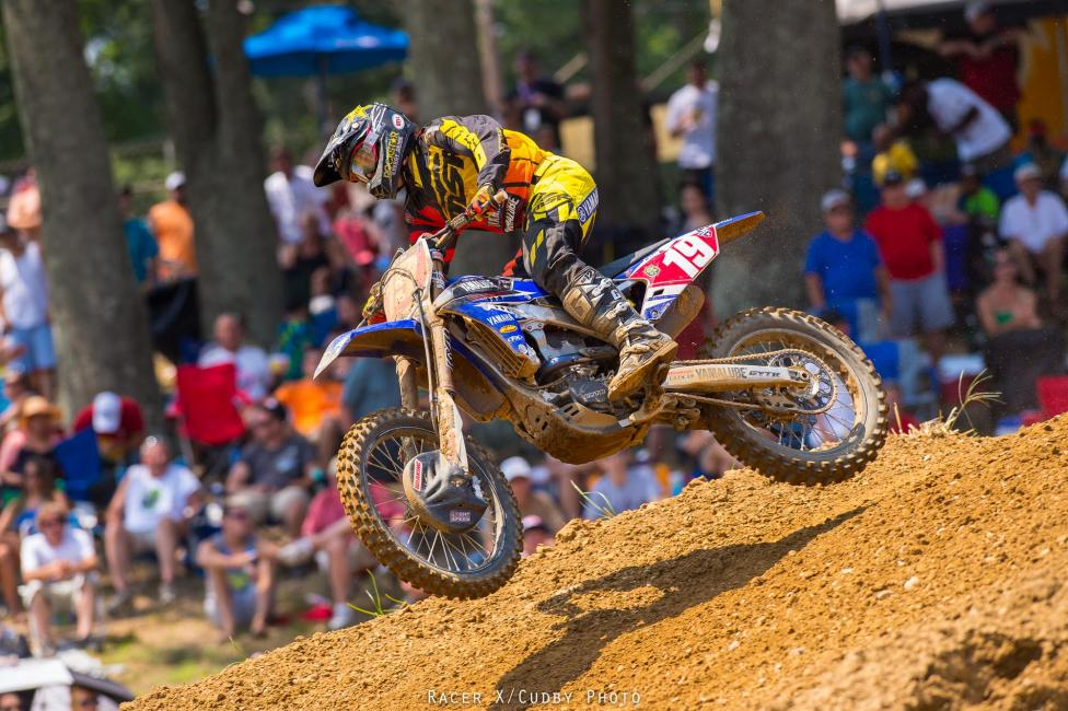 JMart says he knew Baggett would be fast at Budds, so he wasn't bummed to have to take second to him.Photo: Cudby