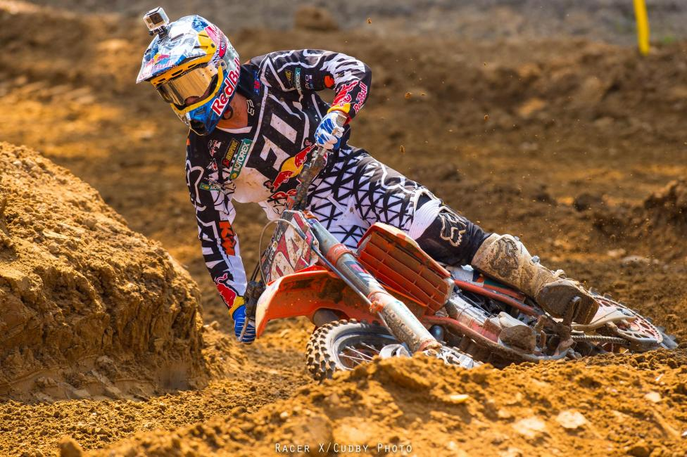 Like JMart, you can't get Roczen down, or at least a second-place finish won't.Photo: Cudby