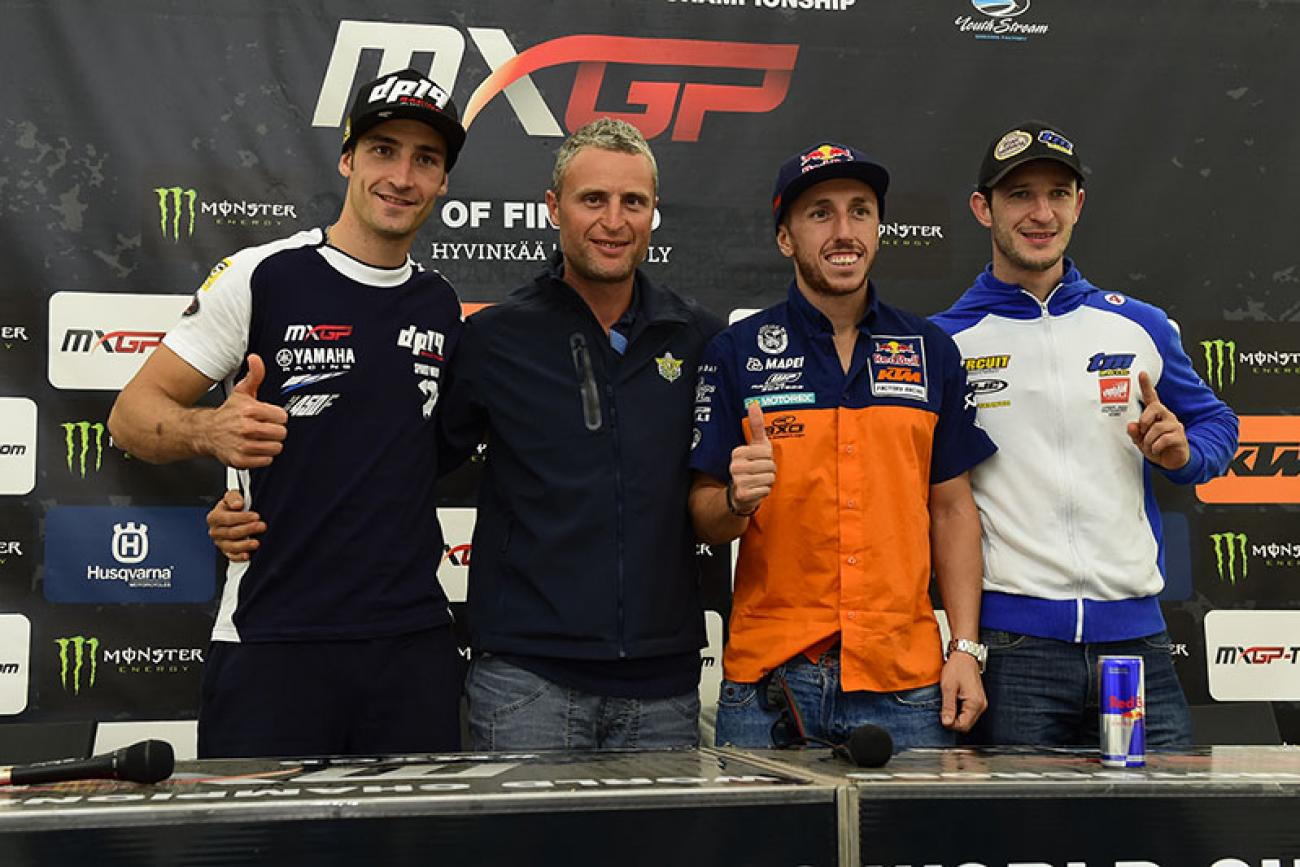 Cairoli to Race MX2 at Motocross of Nations
