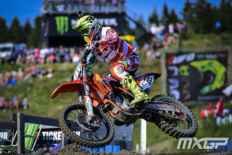 Antonio Cairoli leads the MX1 standings into the final break of the series.Photo: MXGP