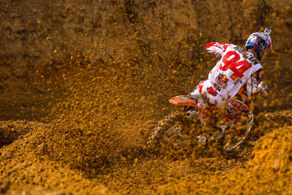 """I guess not every moto can be awesome."" - Roczen Photo: Simon Cudby"