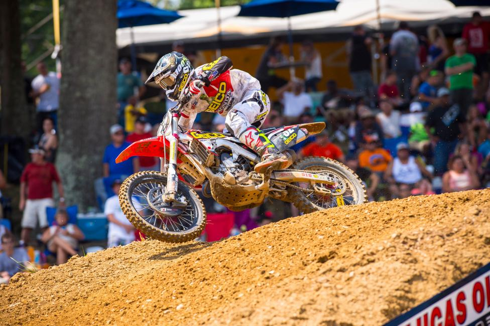 Bogle is still searching for his first win in Lucas Oil Pro Motocross.